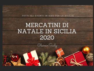 mercatini di natale sicilia 2020