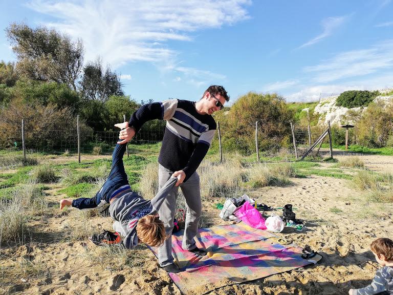 picnic in famiglia a Eloro