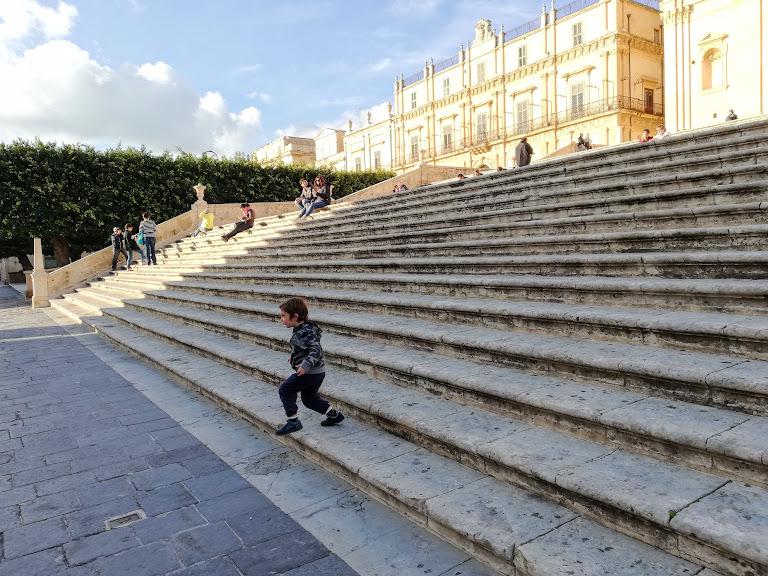 scalinata barocca di Noto