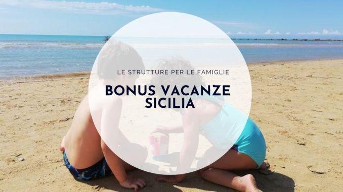due bambini in vacanza in Sicilia
