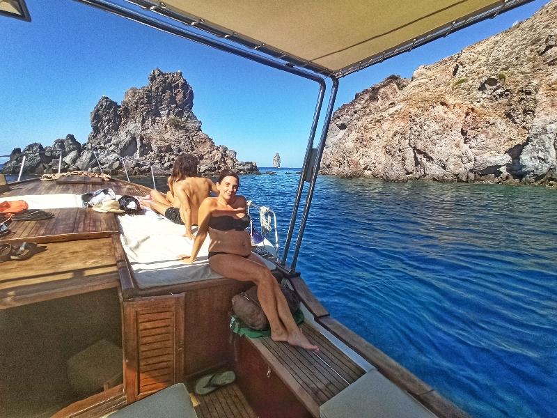 gita in barca a Lipari