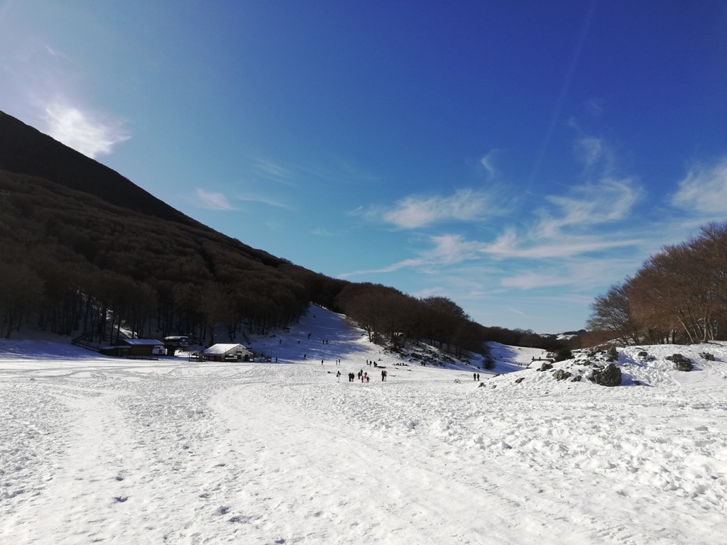 neve sulle Madonie
