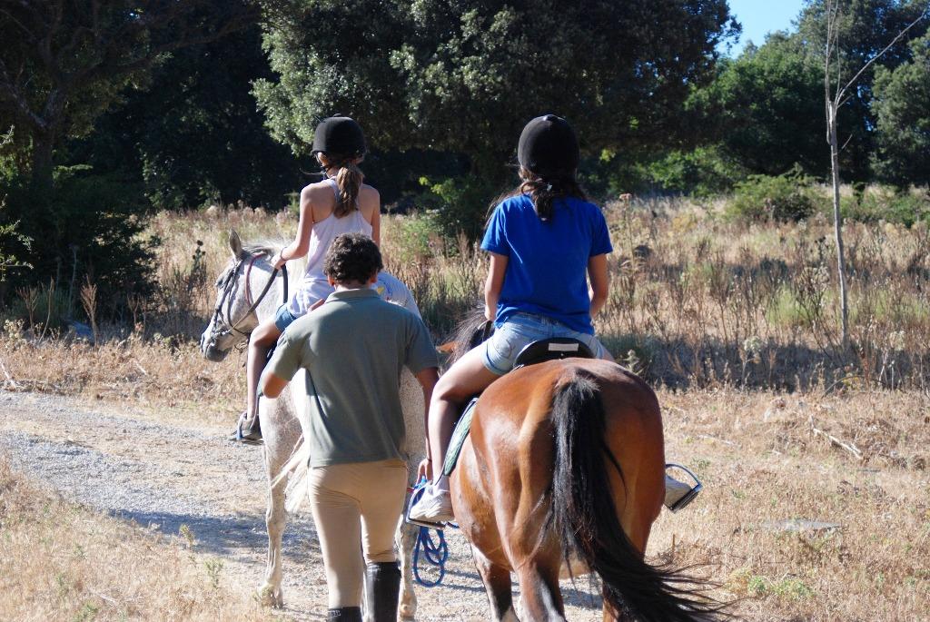 bambino a cavallo sulle Madonie