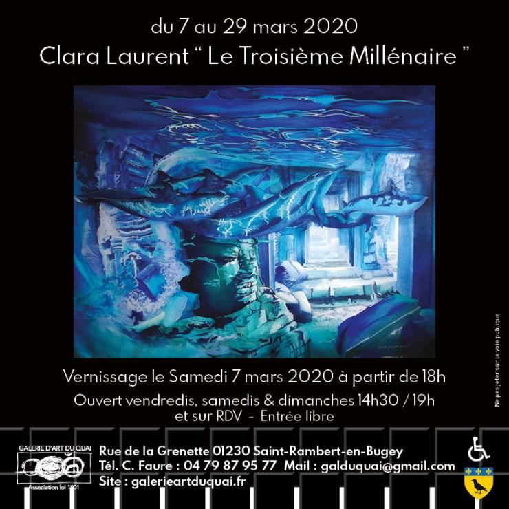 Exposition Claire Laurent