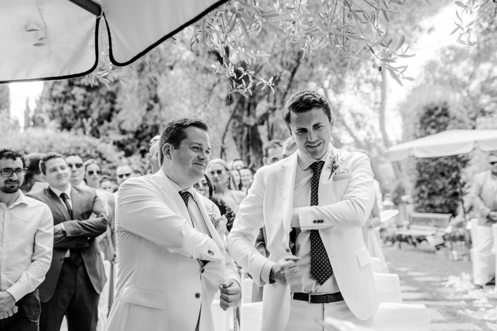 Wedding at Château Les Carrasses