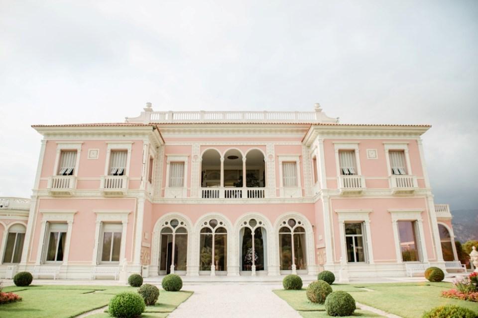 Wedding at Villa Rothschild St Jean Cap Ferrat