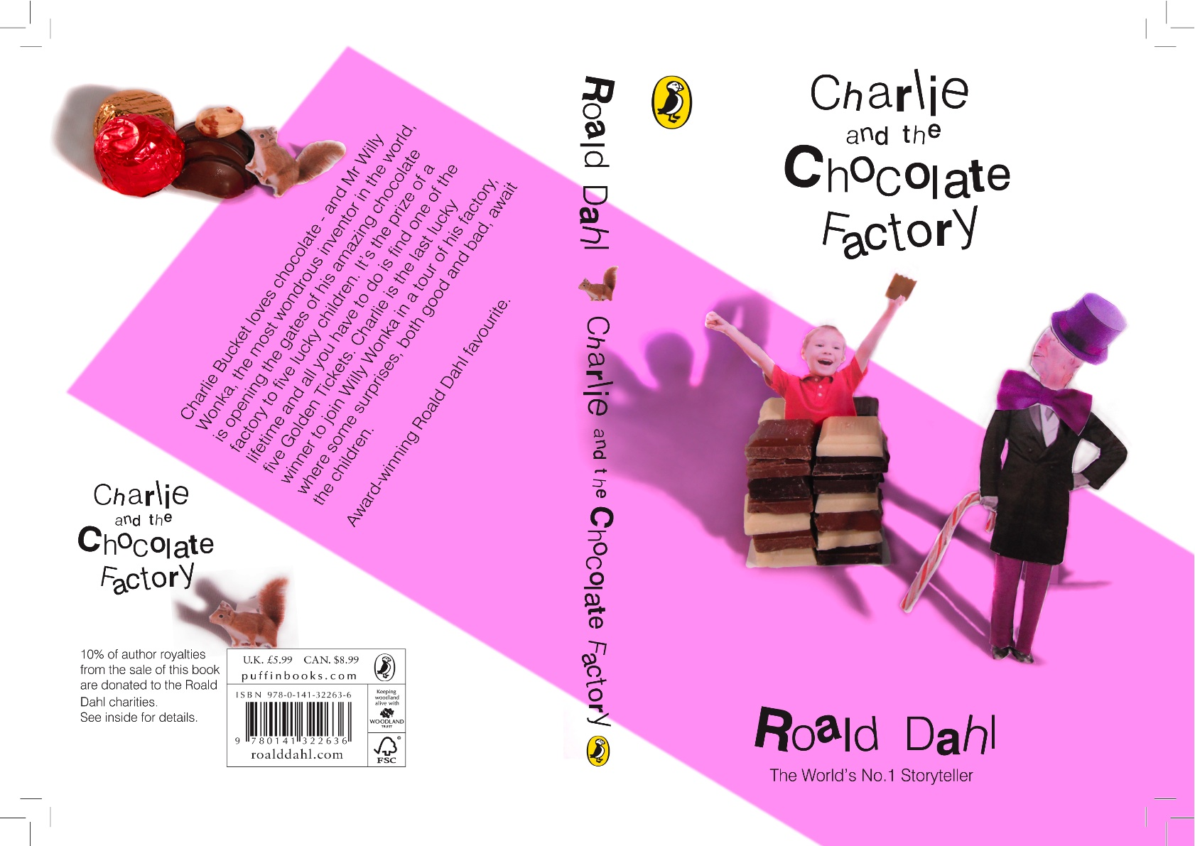 Roald Dahl Book Covers