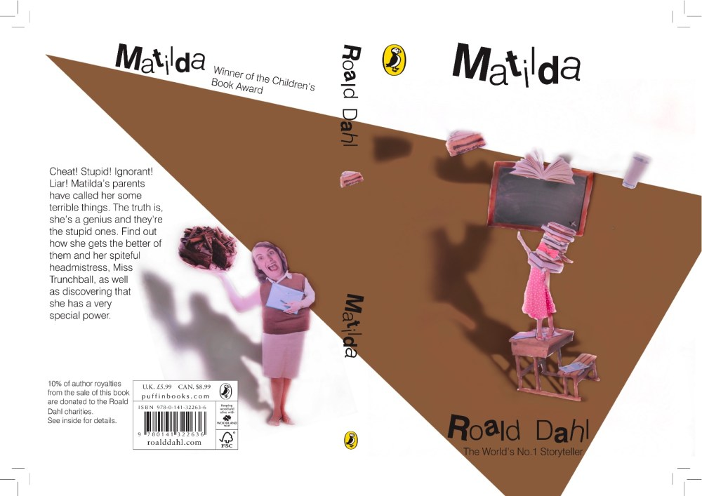 Roald Dahl Book Covers (3/4)