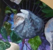 Claire Marsh, 2007, composition detail, oil on canvas