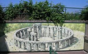 Reconstitution du site de Stonehenge