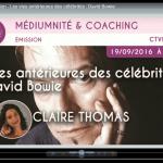 CTVM Emission – Les vies antérieures des célébrités : David Bowie