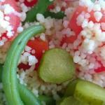 Recette : salade fraiche du jour
