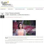 Découvrez un article et interview sur le Guide de la Voyance