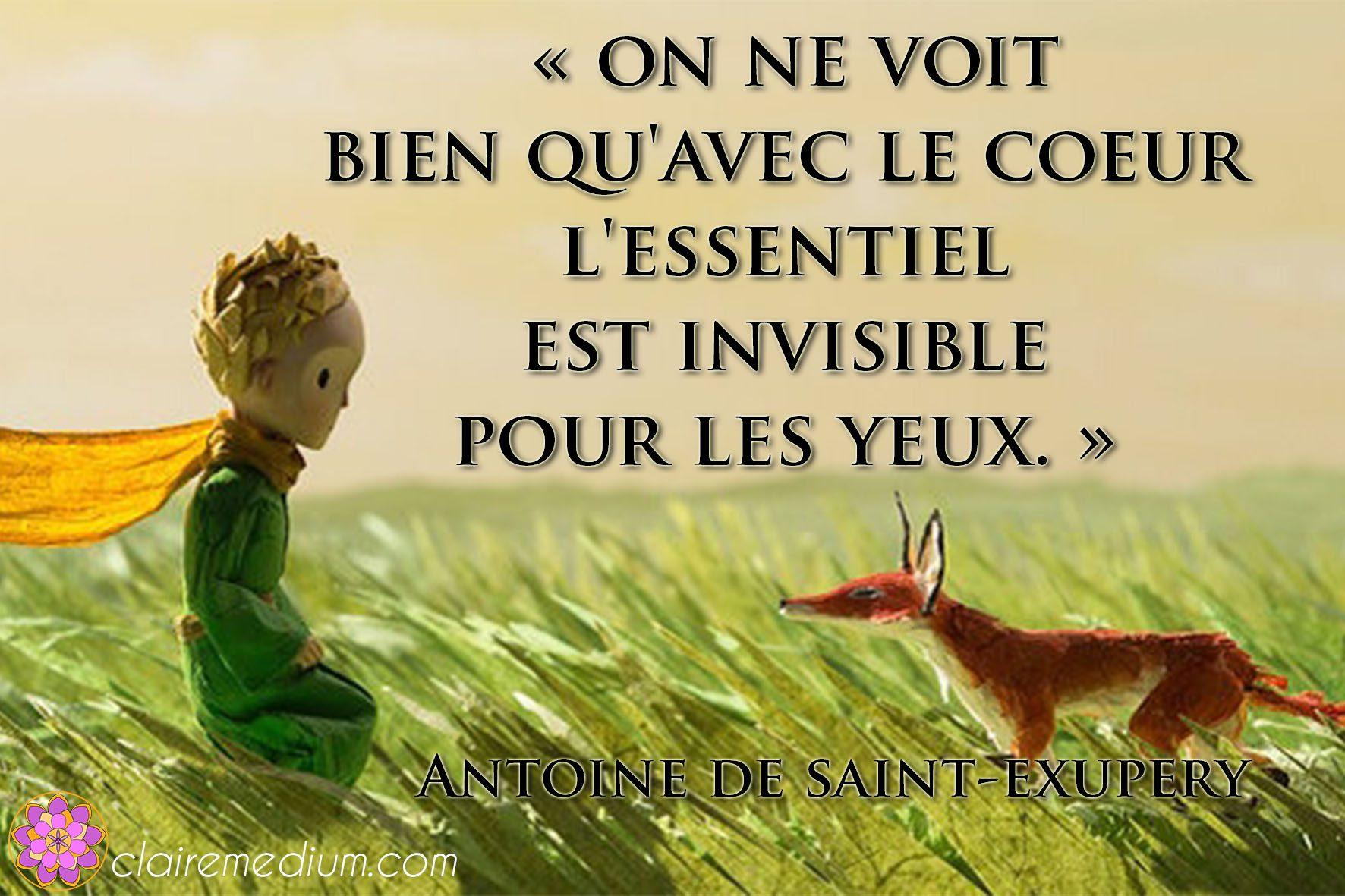 Citation De La Semaine Antoine De Saint Exupry Claire