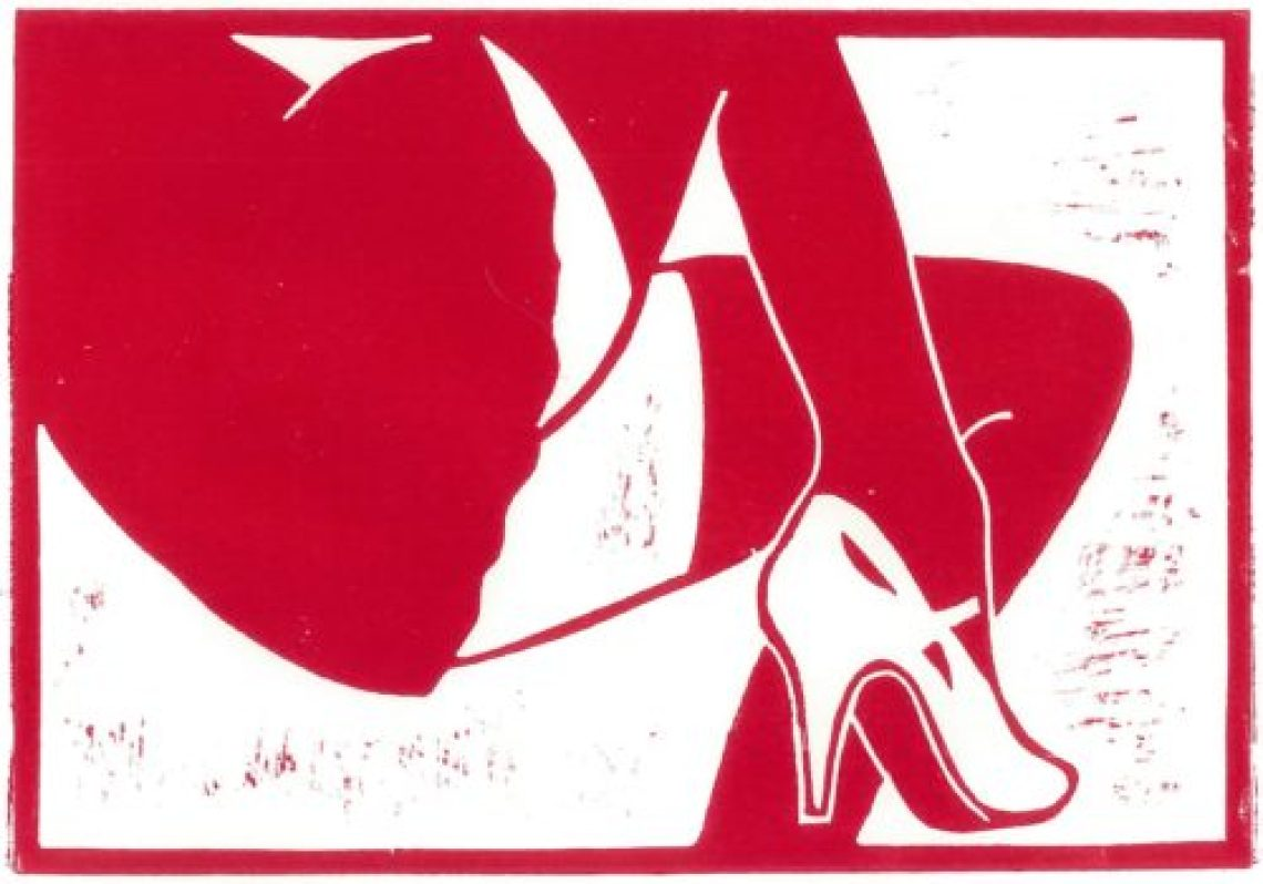 Stockings #07 red
