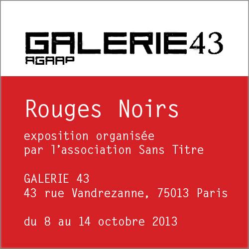 Expo Galerie 43 octobre 2013