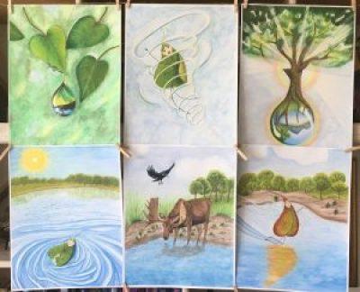 Illustrations for Fallen