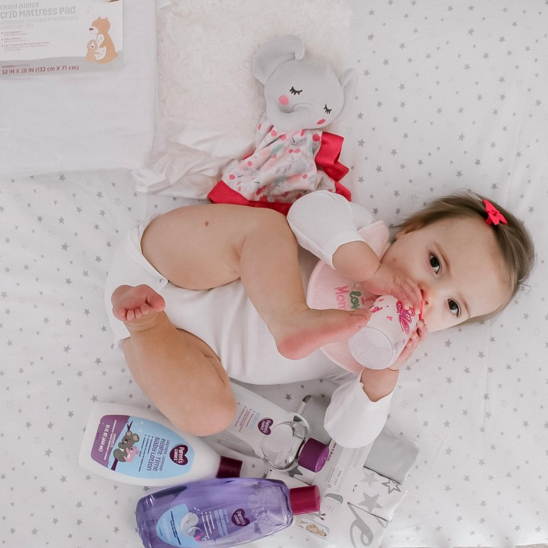 Amelia's Bedtime Routine featuring Parents Choice products at Walmart