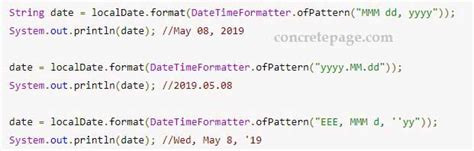 Java date to string. let's see the full example to convert date and