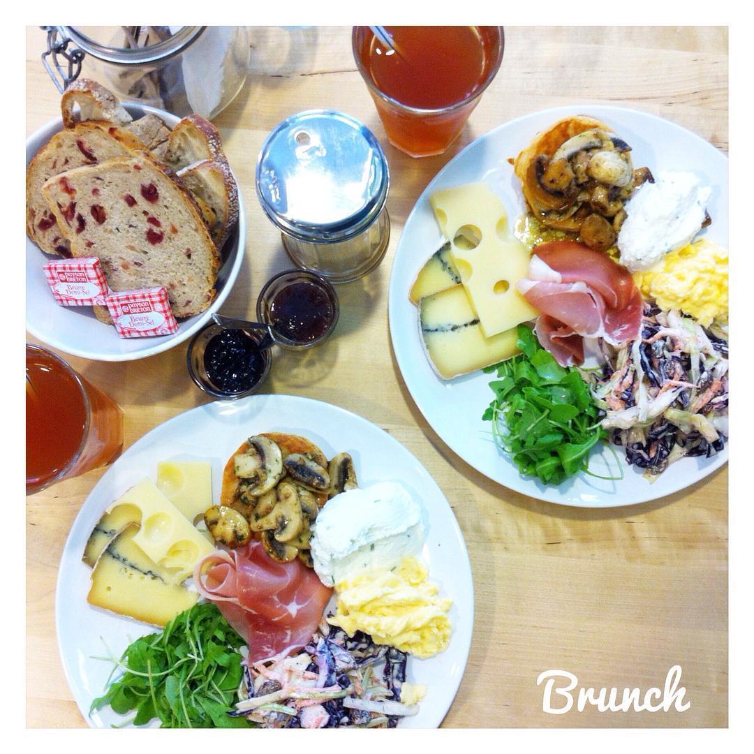 Se changer les idées le temps d'un brunch au #cafealbertine #rennes
