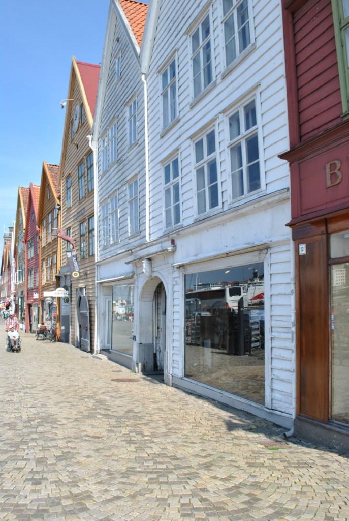 Bergen bryggen quartier norvège