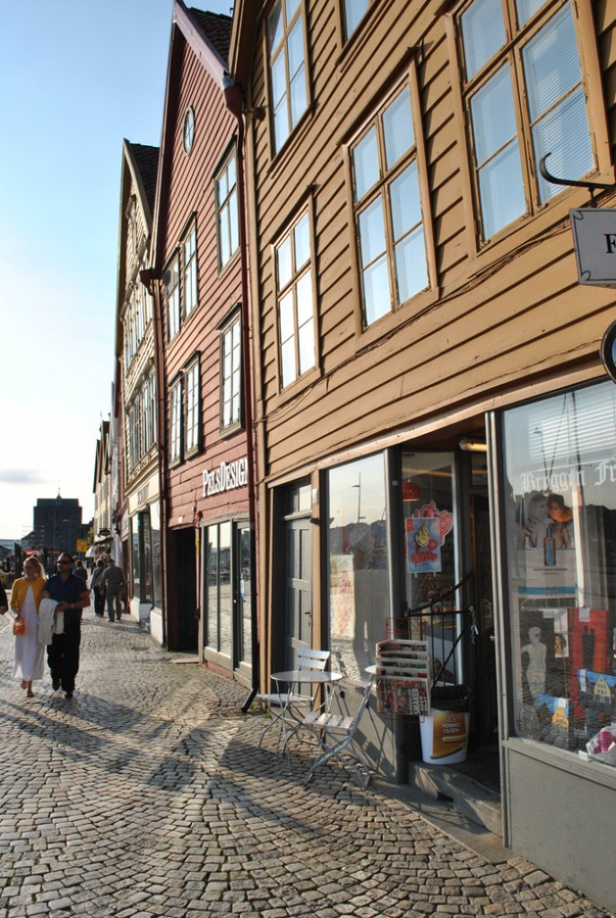 quartier de bryggen bergen norvège