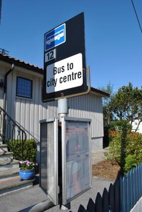 Panneaux de signalisation originaux - Bergen - Norvège