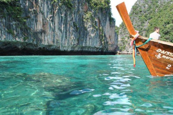 grande île kho phi phi thaïlande