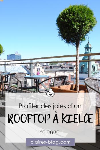 Profiter des joies d'un rooftop à Kielce - Pologne #europe #kielce #pologne #voyage #rooftop