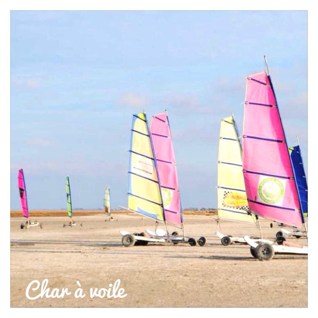 Du char à voile sur les plages du Mont Saint Michel ⚓️