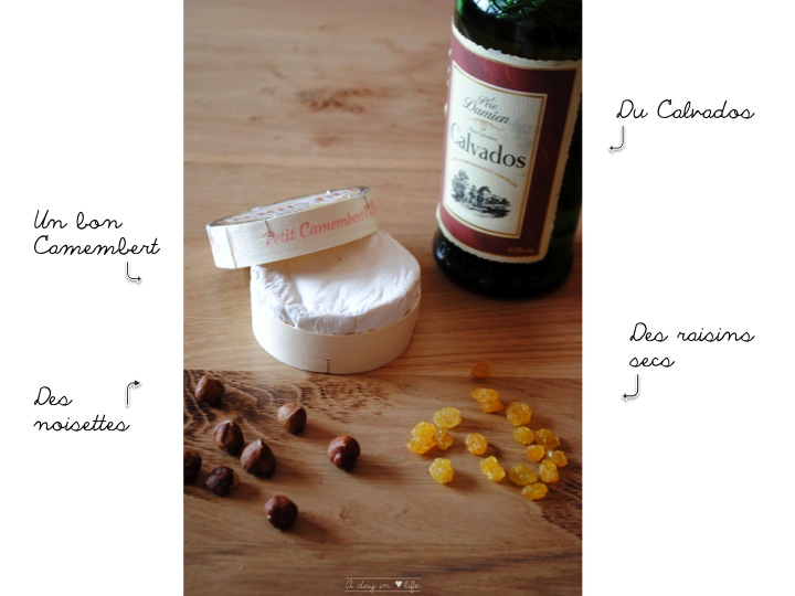 recette de cuisine camembert