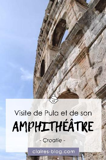 Visite de Pula et de son amphithéâtre - Croatie #amphithéâtre #pula #croatie #voyage