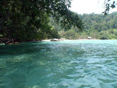 Naked Beach - Tioman - Malaisie