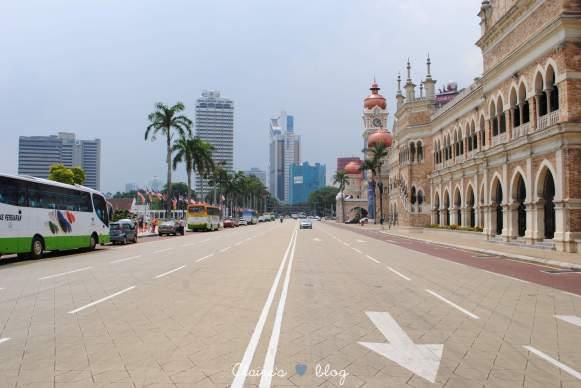dans les rues de Kuala Lumpur - Malaisie