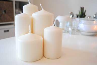 DIY bougies déco cocooning