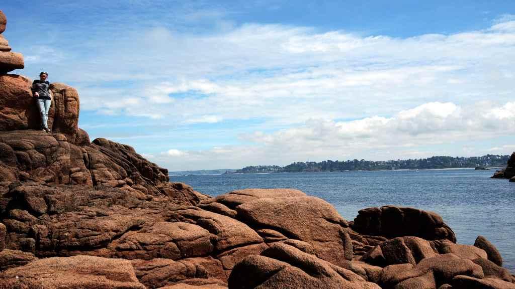 côte de granit rose bretagne Ploumanach