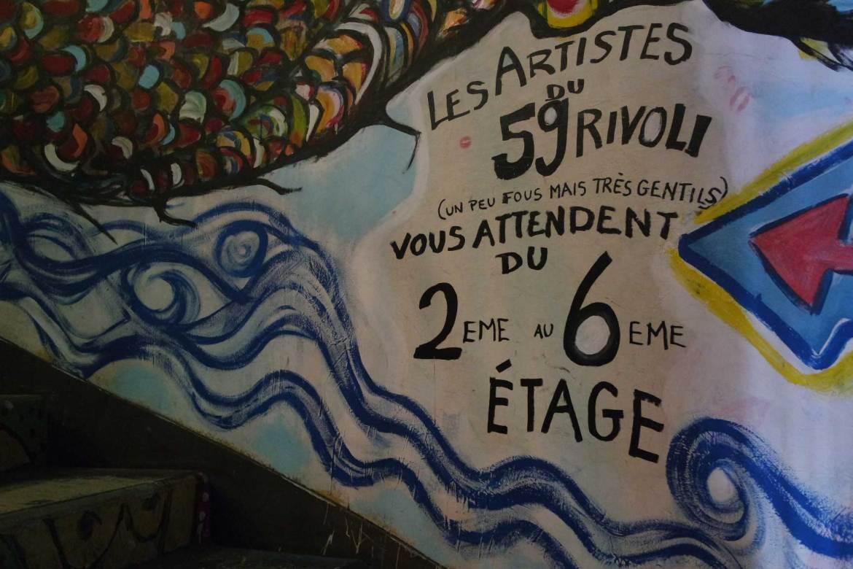 59 rue de rivoli paris squat artistes (15)