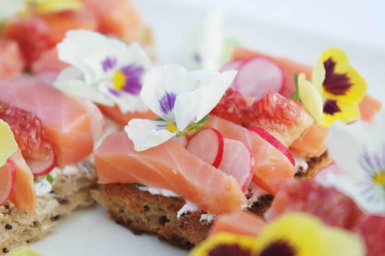 recette apéro dinatoire facile healthy joli fleurs comestibles (3)