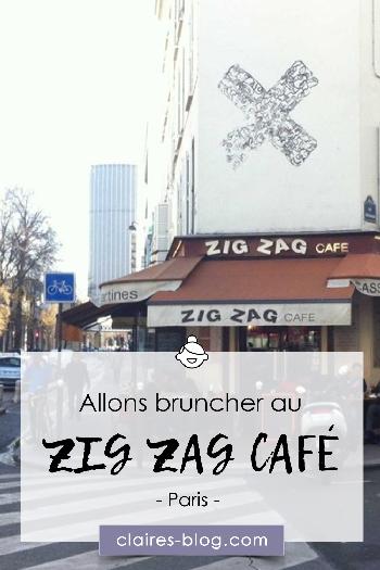 Allons bruncher au zig zag café - Paris #paris #cityguide #zigzagcafe #brunch