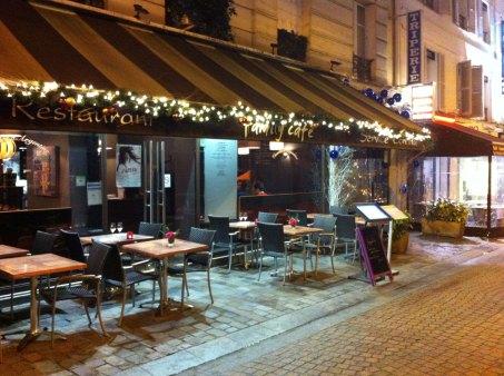 Restaurant le Family Café - Paris 16 arrondissement