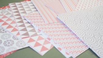 tableau déco pliage origami diy