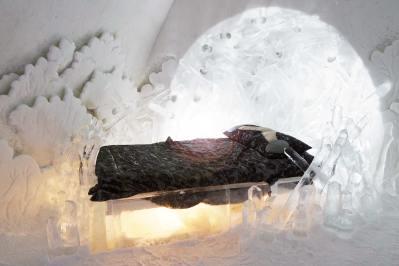hôtel de glace Quebec hébergement insolite