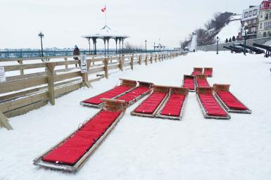 quebec neige canada patinoire luge