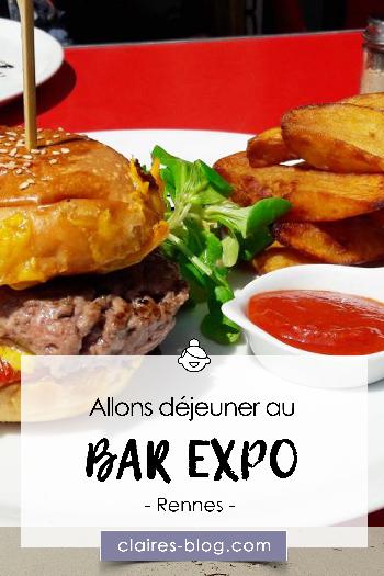 Allons déjeuner au Bar Expo, un restaurant original et artistique à Rennes