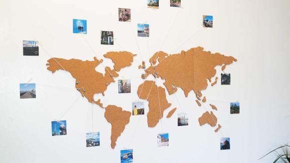 carte monde mappemonde la chaise longue