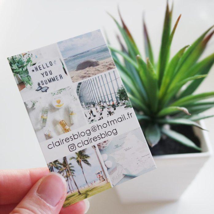 cartes de visite carteland