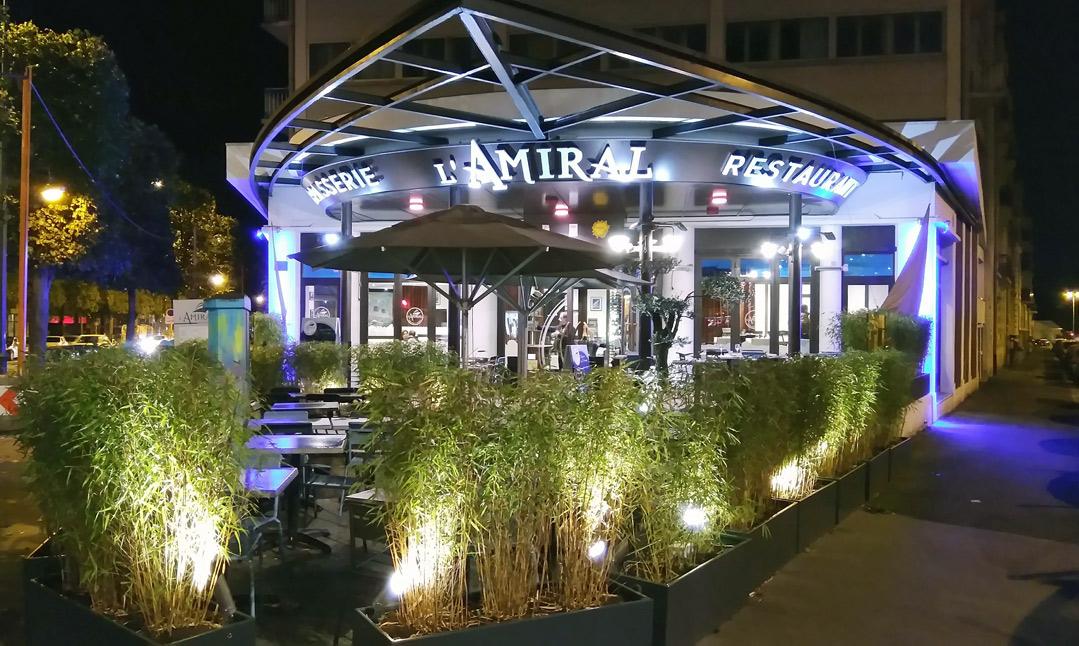 L'Amiral - Restaurant Rennais