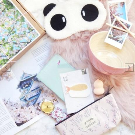 Idées-cadeaux-saint-valentin-pour-femme-box nos curieux voyageurs 2