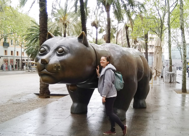 Barcelone-Espagne-gato-botero-sculpture-chat