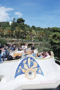 Barcelone-Espagne-park guell